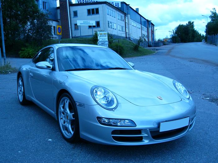 bilvård Porsche
