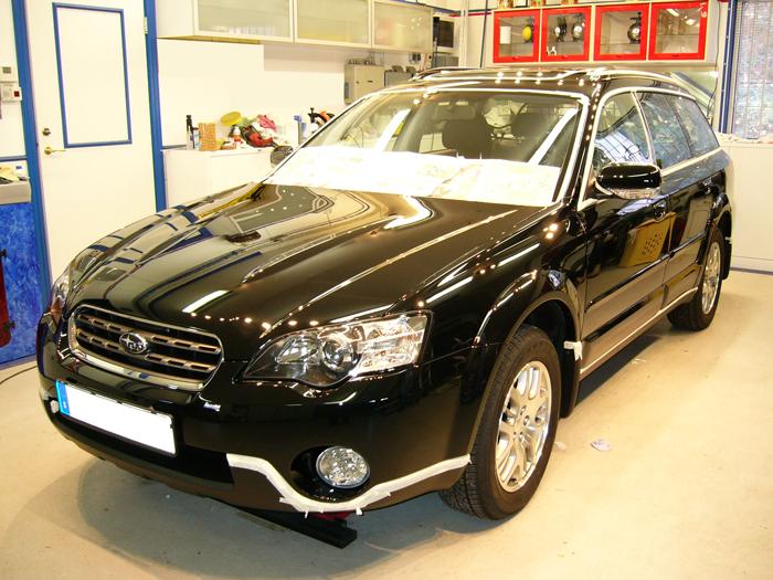 bilvård Subaru