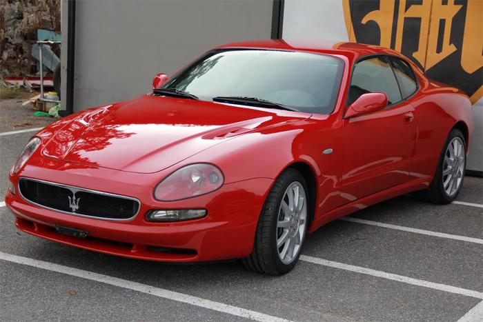 bilvård Maserati