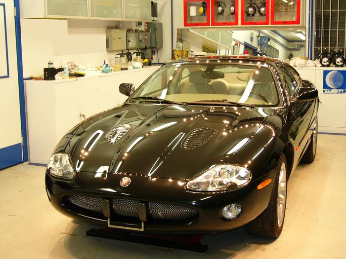 bilvård Jaguar